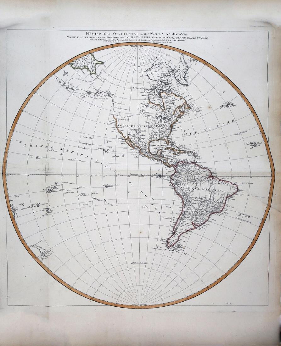 D'anville's Famous Hemisphere World Maps