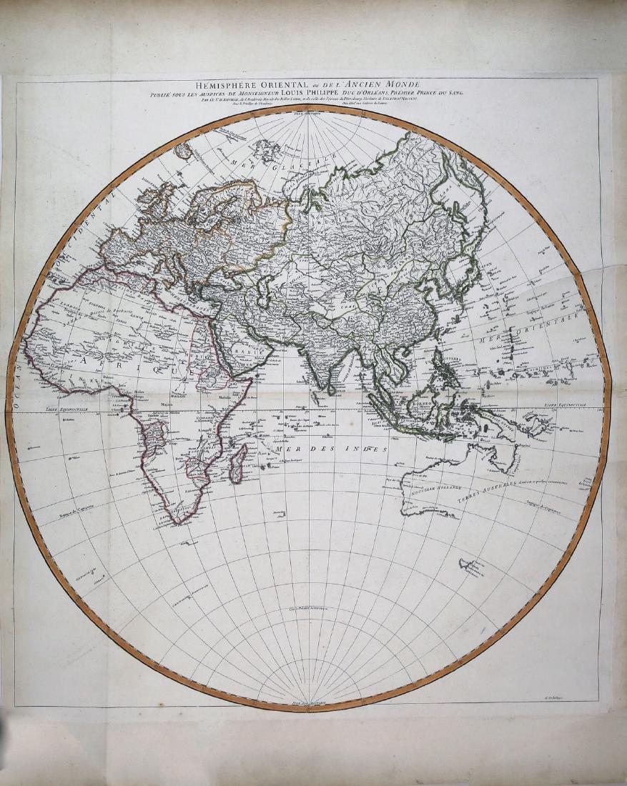 D'anville's Famous Hemisphere World Maps - 2