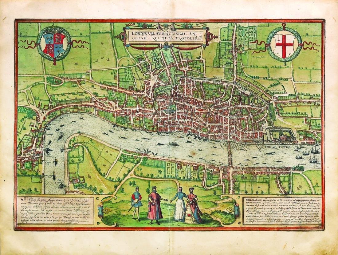 Braun & Hogenburg View of LONDON