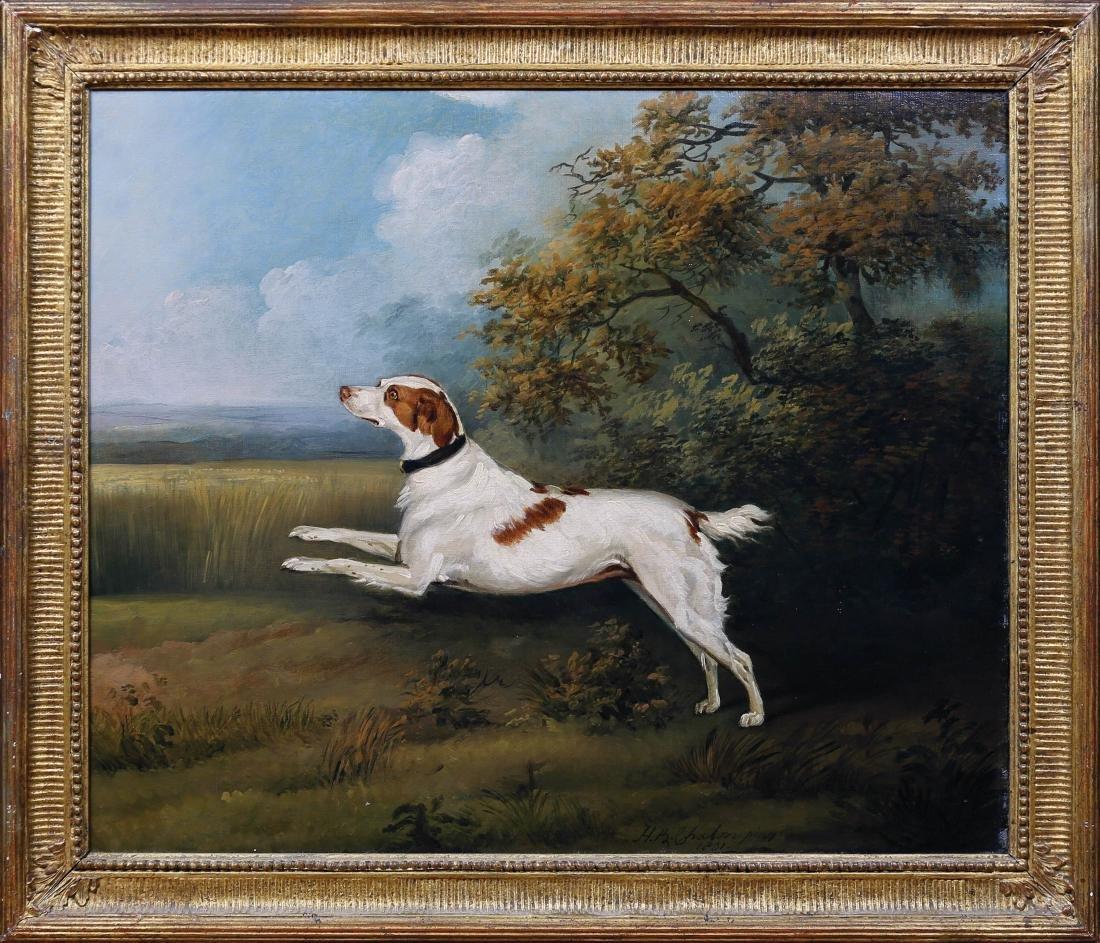 English Spaniel Oil Painting - 2