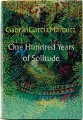 1st U.S. Ed. Marquez 100 Years of Solitude