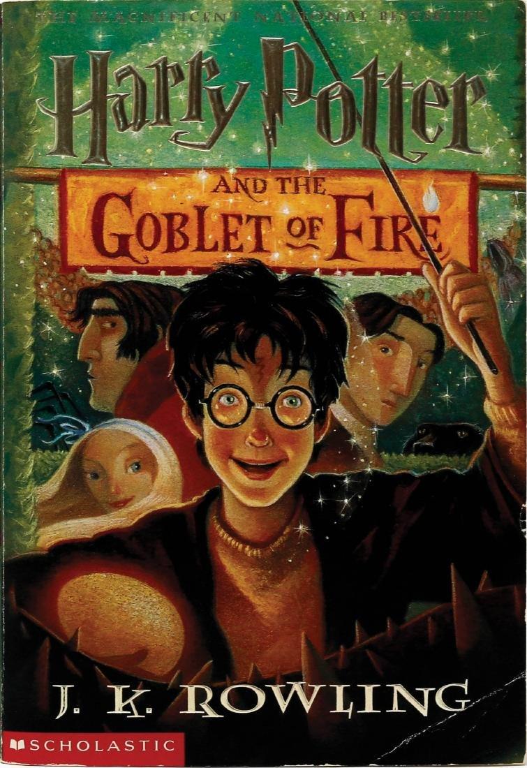 1st Ed. Paperback Harry Potter 4 Signed
