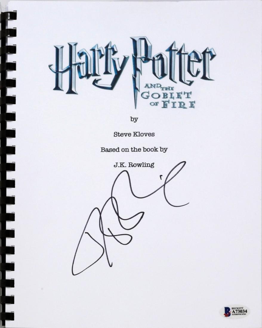 1st Ed. Paperback Harry Potter 4 Signed - 3