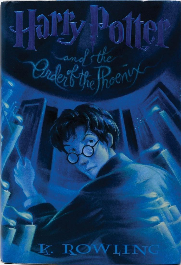 1st Ed. Hardcover Harry Potter 5, signed