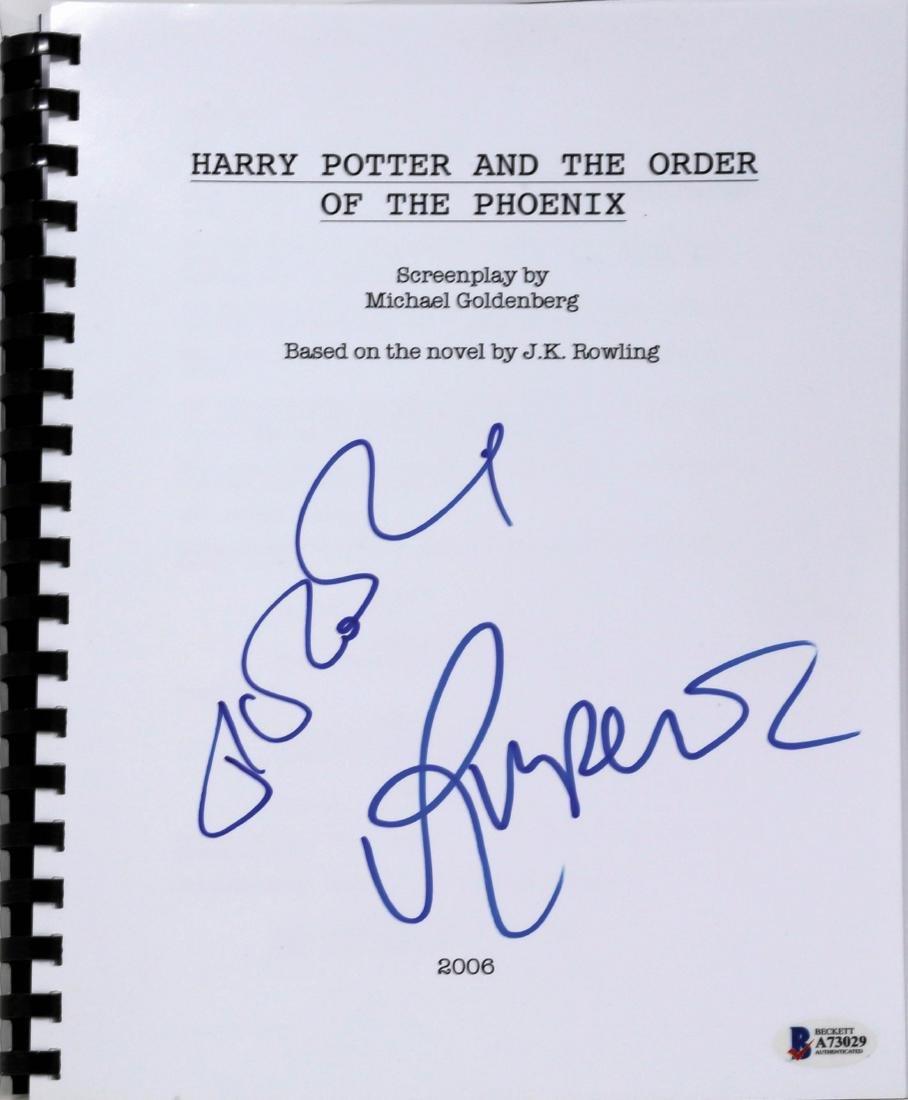 1st Ed. Hardcover Harry Potter 5, signed - 3