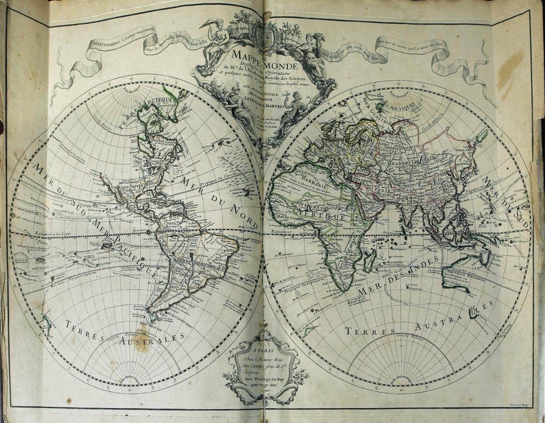Composite Atlas with De L'isle, Homann & Seutter