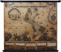 Visscher America Wall Map