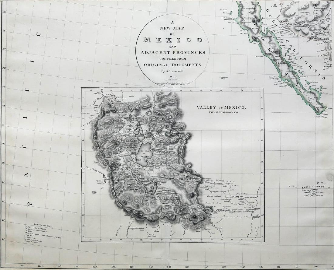 Arrowsmith New Map of Mexico