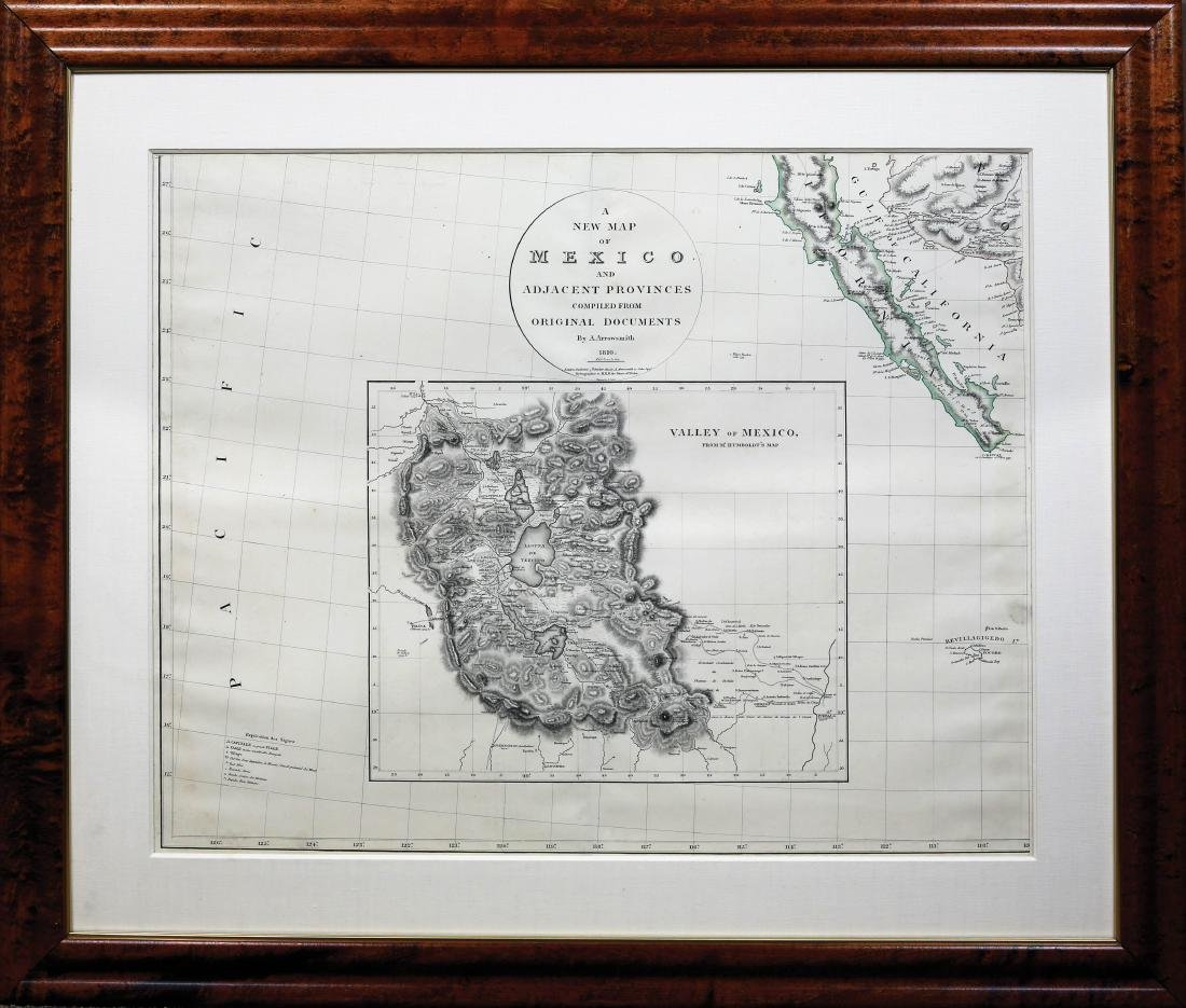 Arrowsmith New Map of Mexico - 6