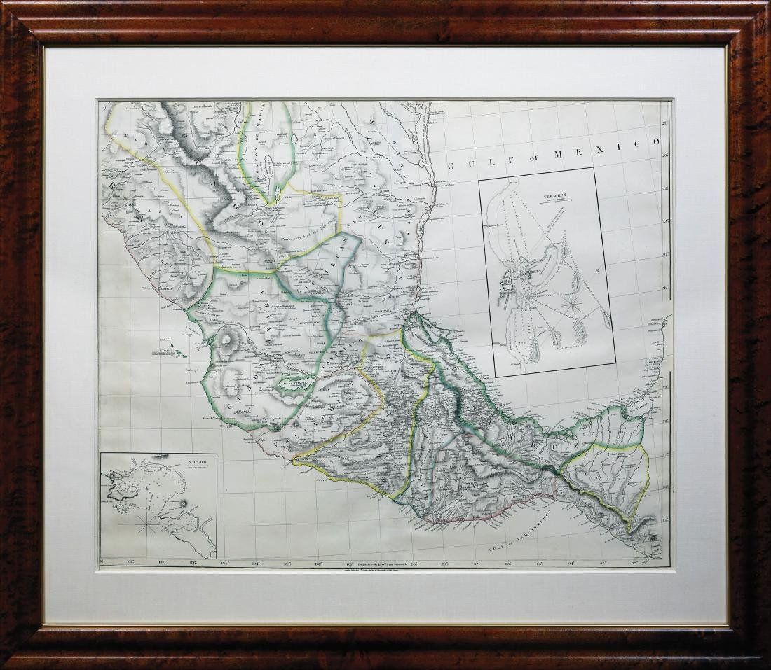 Arrowsmith New Map of Mexico - 7