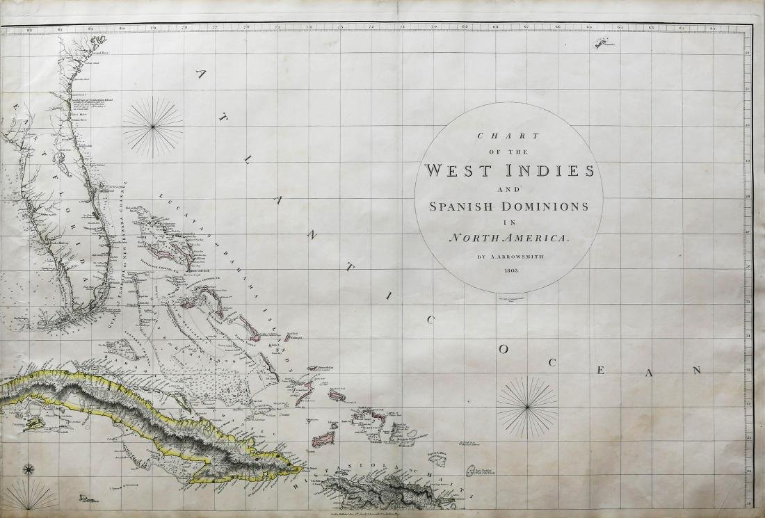 Arrowsmith Chart of the West Indies