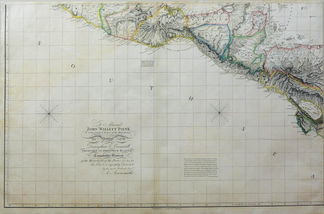 Arrowsmith Chart of the West Indies - 3