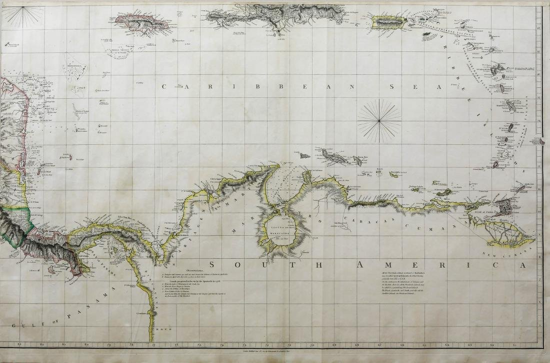 Arrowsmith Chart of the West Indies - 4