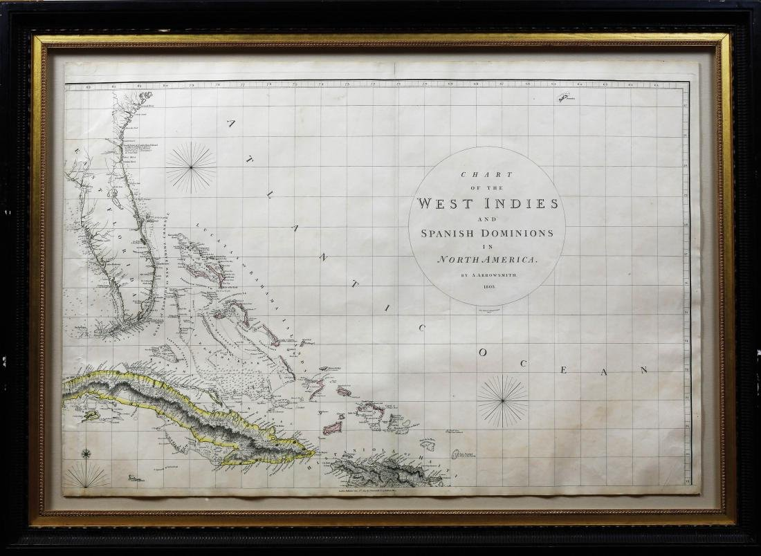 Arrowsmith Chart of the West Indies - 5
