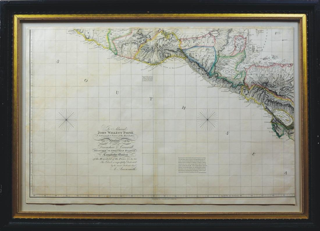 Arrowsmith Chart of the West Indies - 7