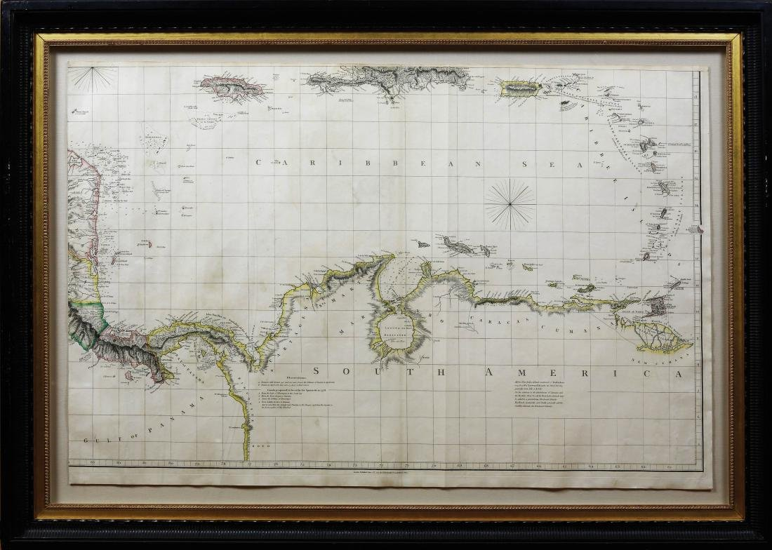 Arrowsmith Chart of the West Indies - 8