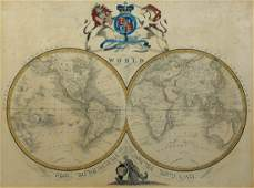 English World Map 1833