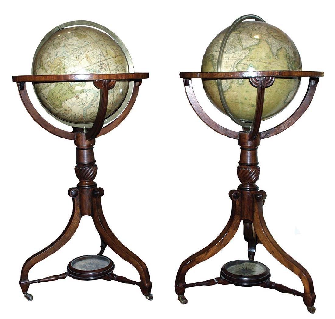 Newton 1820 Globe Pair