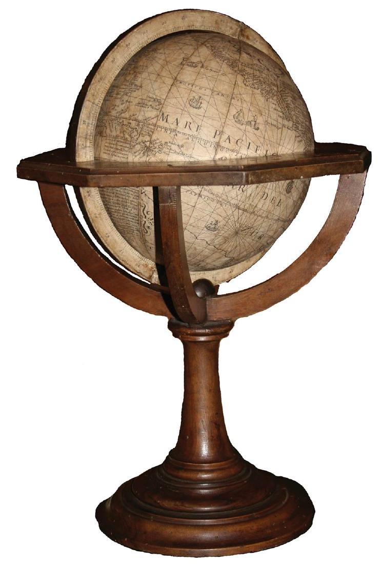 Rossi / Hondius 1615 Terrestrial Globe