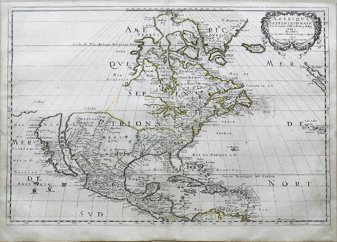 Sanson Americas Map