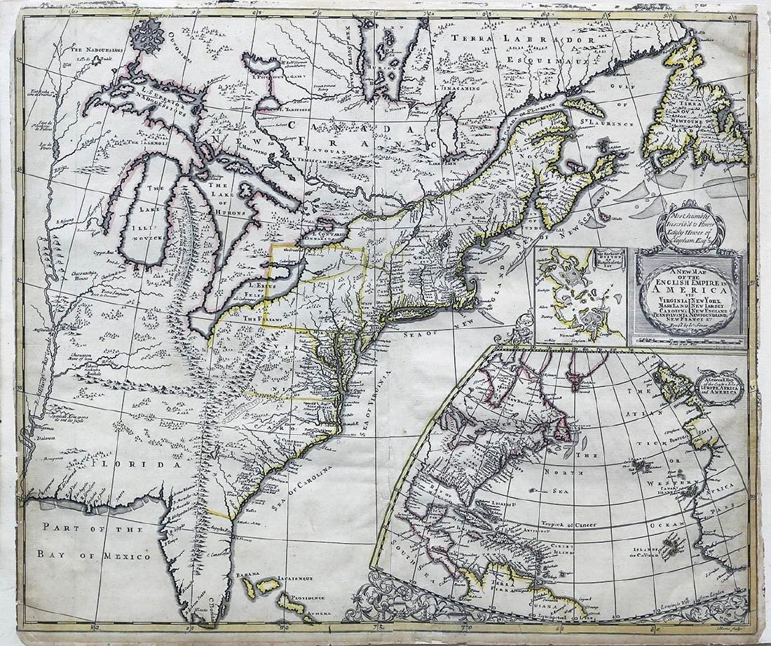 Senex North America Map