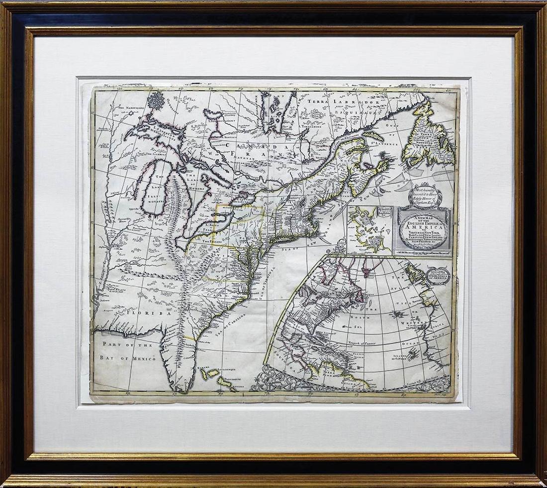 Senex North America Map - 2