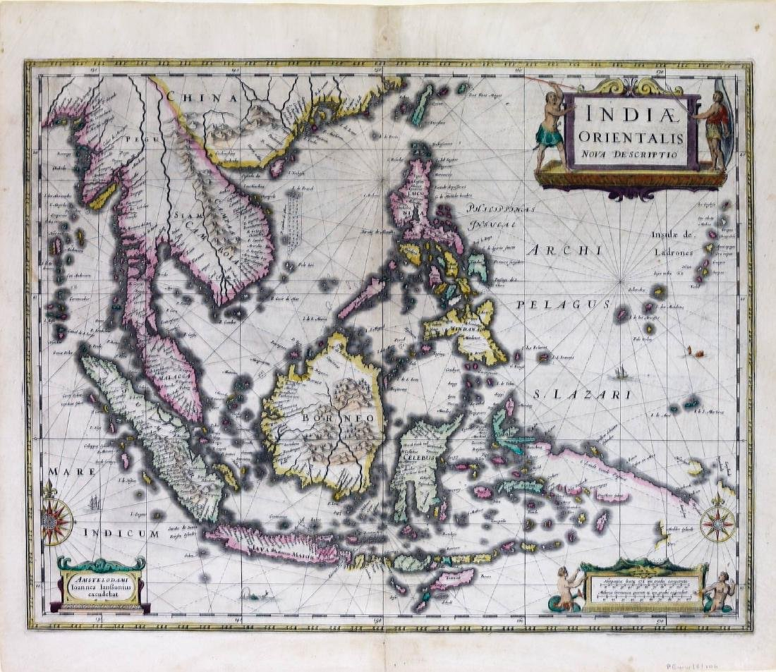 Janson Map of the East Indies