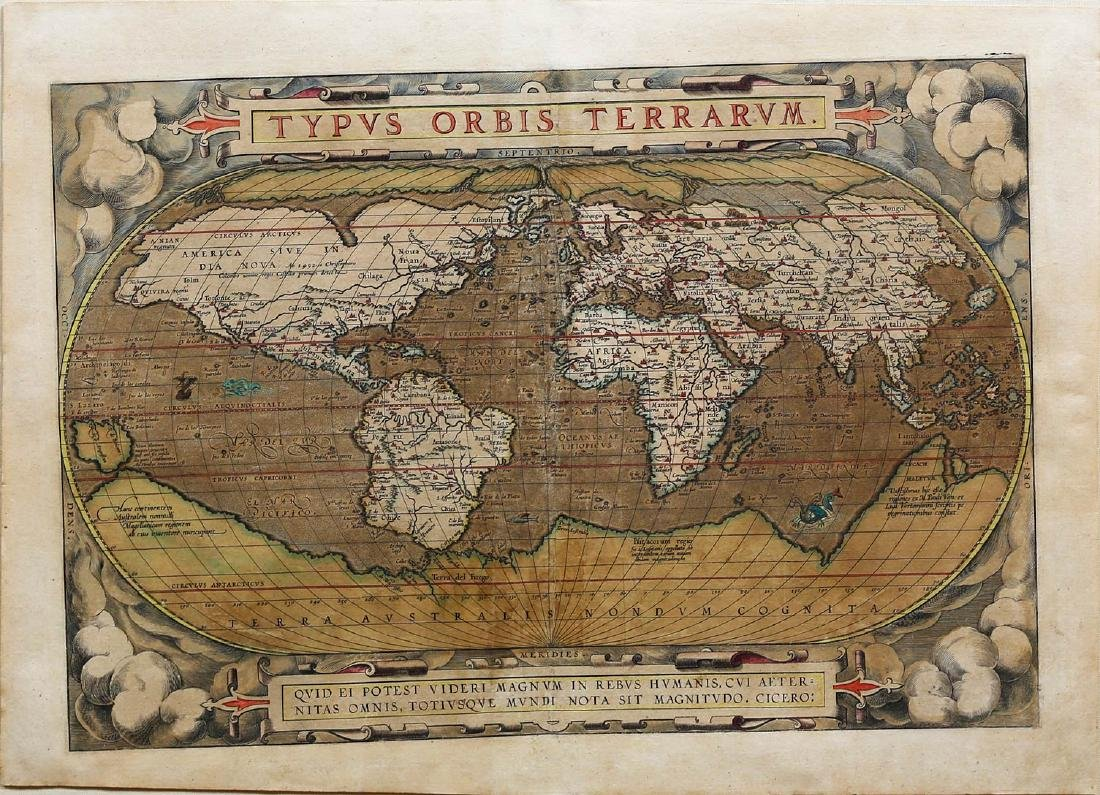 Ortelius World Map