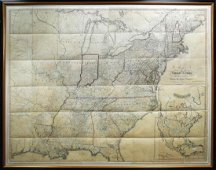 Bradley Map of the United States