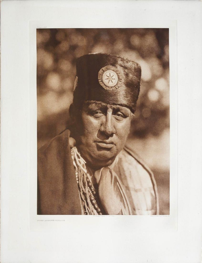 Curtis Photogravure, North American Indian