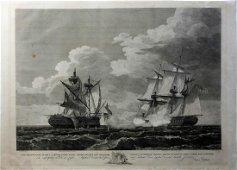 Naval Battle Scene