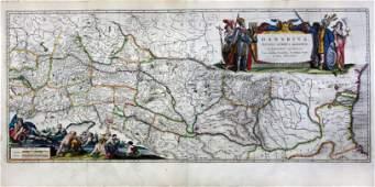 Blaeu Map of the Danube