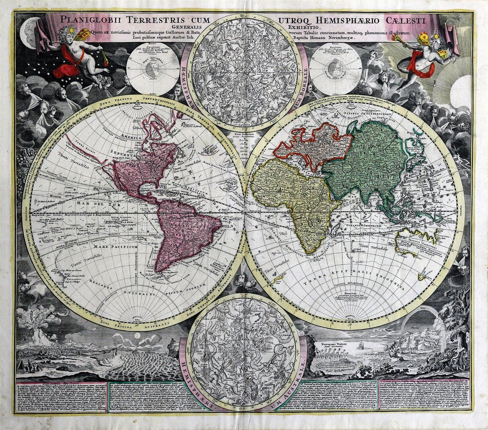 Homann Map of the World