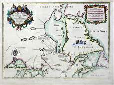 Jaillot Map of New France