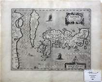 Janssonius Map of Japan