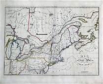 Melish 1812 War Map
