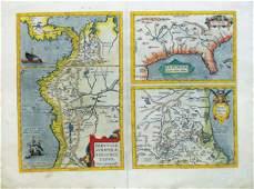 Ortelius map of S.E. America