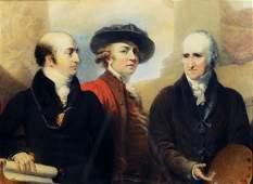 Green Royal Academy Presidents Watercolor