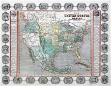 Map of U.S., 1846