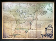 Mitchell Map of America, 1755