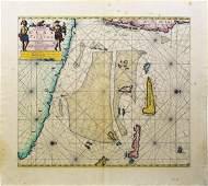 Van Keulen Map of the Caribbean