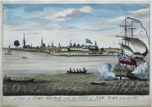 Carwitham, View of Fort George with the City of NY