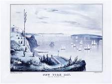 Currier New York Bay from Telegraph Station