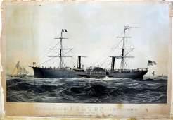 Parsons, Fulton maritime lithograph