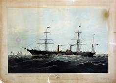 Parsons Persia maritime lithograph