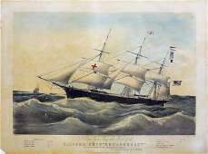 Parsons Dreadnought maritime lithograph