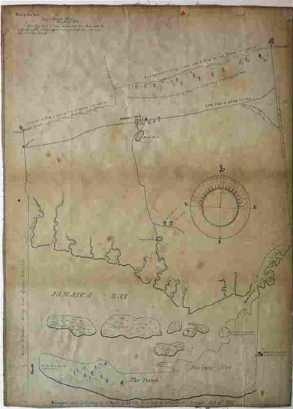 Stewart Manuscript Map of New York