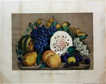 Currier  Ives Autumn Fruits