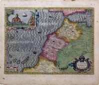 Hondius Map of Morocco