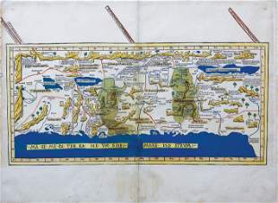 Ptolemy Map of the Holy Land